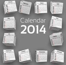 Данъчен календар 2014г.